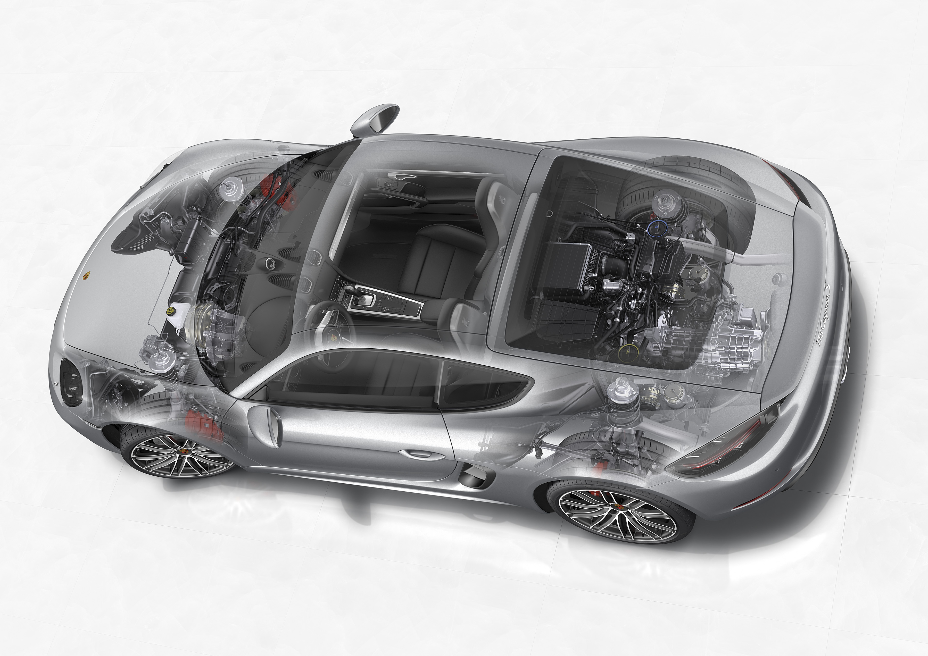porsche confirms n a flat 6 will live on in 718 boxster spyder 718 cayman gt4 autoevolution. Black Bedroom Furniture Sets. Home Design Ideas