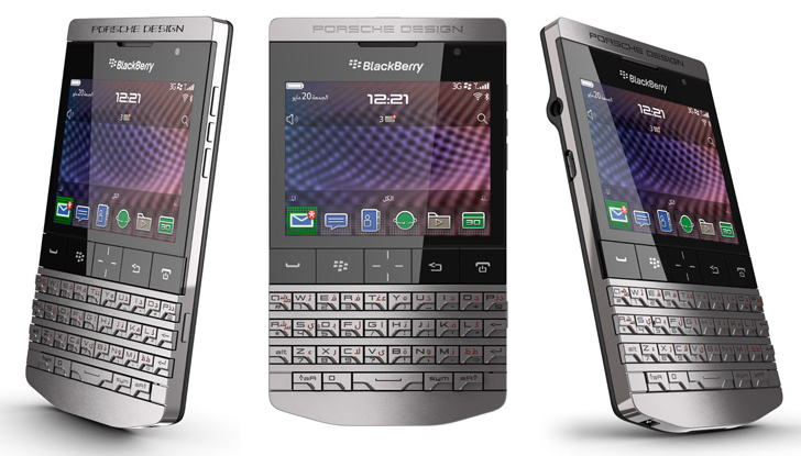 Porsche Design BlackBerry P'9981 Launched, to sell for $2000