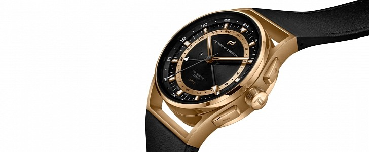 Porsche Design Empties Your Pocket With the 31K Globetimer UTC Gold Edition
