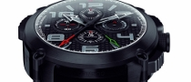 Porsche Design Rattrapante Chronograph Snaps red dot Award