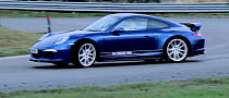 Porsche Drifts 911 Facebook Fan Car to Promote New Season Gifts [Video]