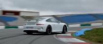 Porsche Drifts the 911 GT3 to Showcase Technical Goodies [Video]