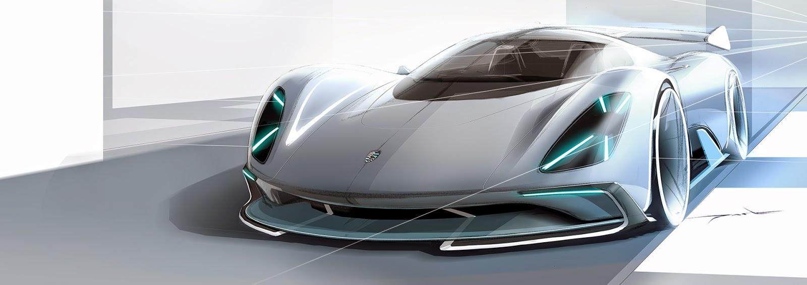 Porsche Electric Le Mans 2035 Prototype Looks Believable and Makes Perfect  Sense
