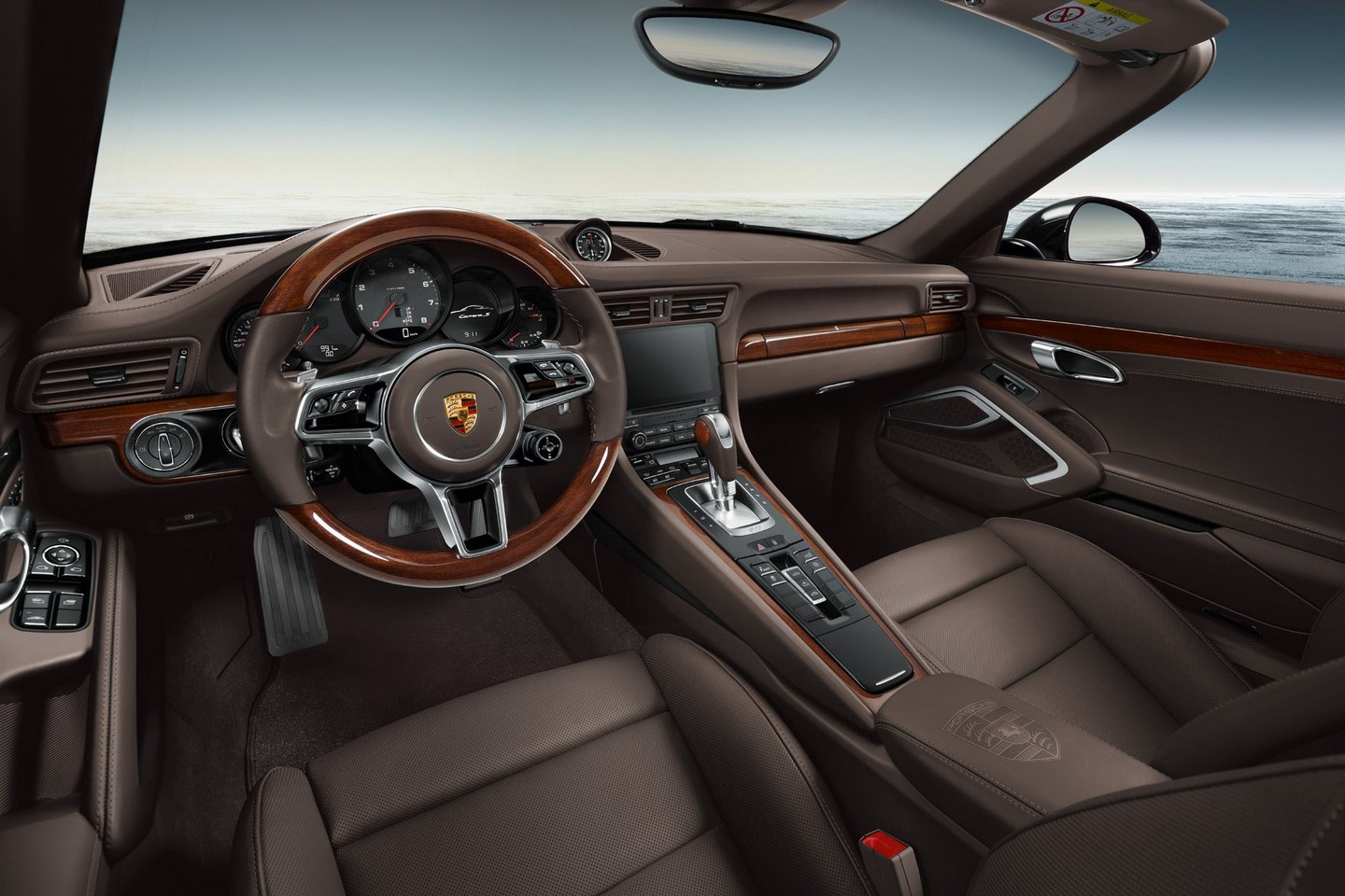 porsche exclusive introduces wood trim for 911 not our cup of tea autoevolution. Black Bedroom Furniture Sets. Home Design Ideas