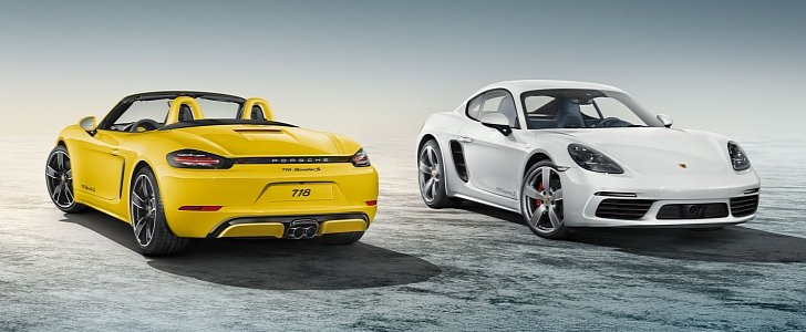 porsche exclusive manufaktur 718 boxster s and 718 cayman s