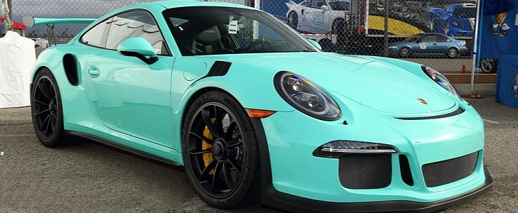 Porsche Exclusive Paint To Sample 911 Gt3 Rs The Tiffany