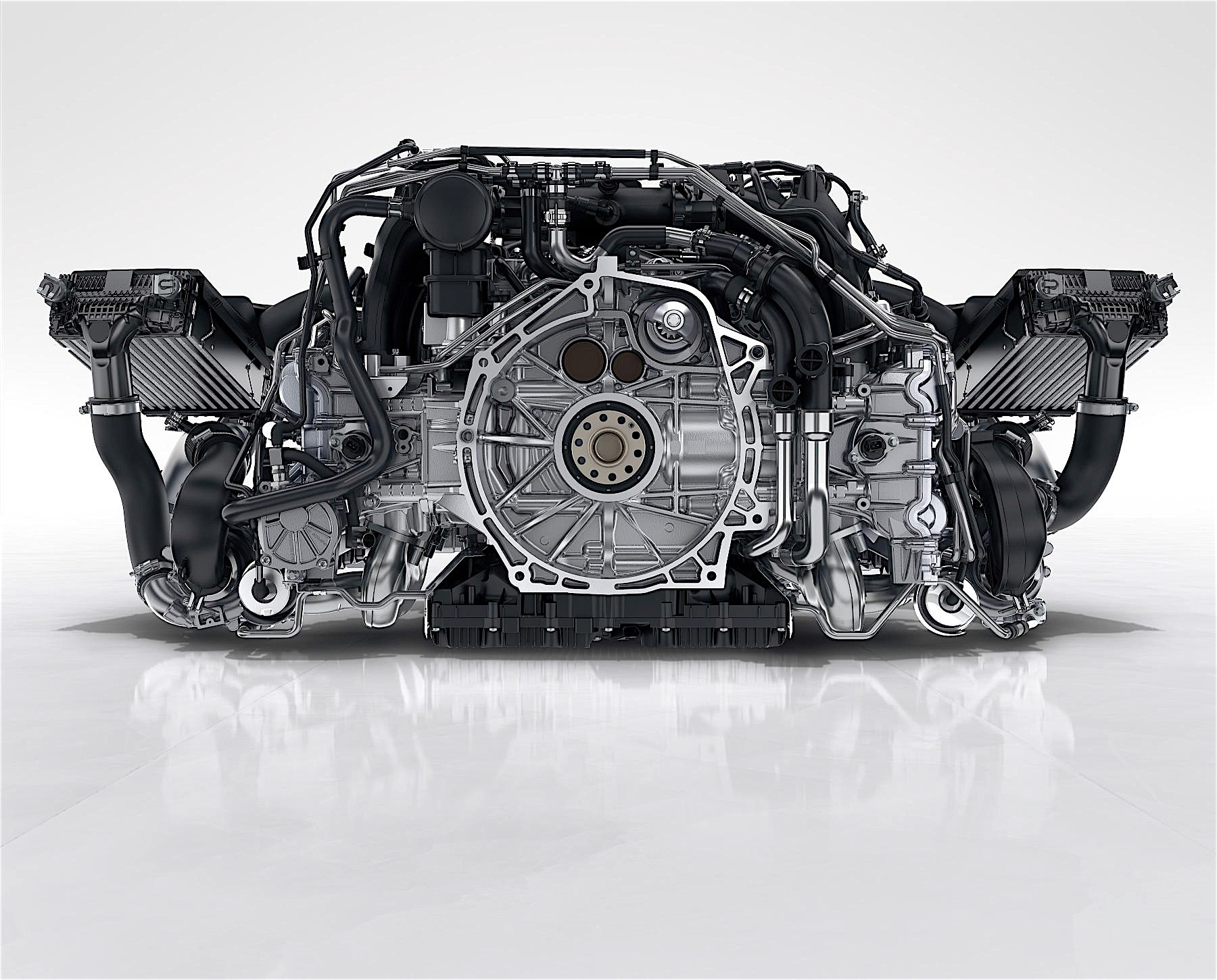 Porsche s Mid Engine Supercar Expected To Feature Flat