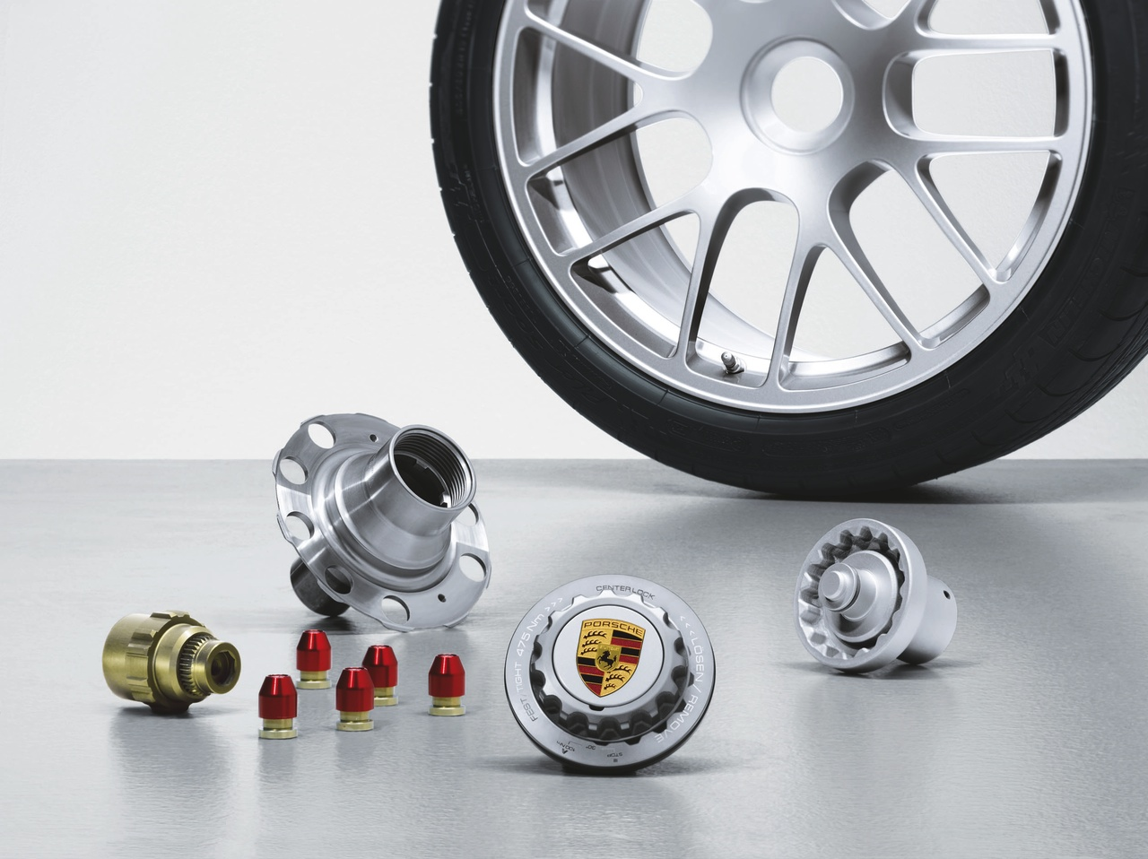 Porsche Gives Center Locking Wheels To The Masses