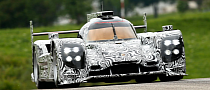 Porsche LMP1 Prototype Emerges for Testing Ahead of 2014 Le Mans Debut