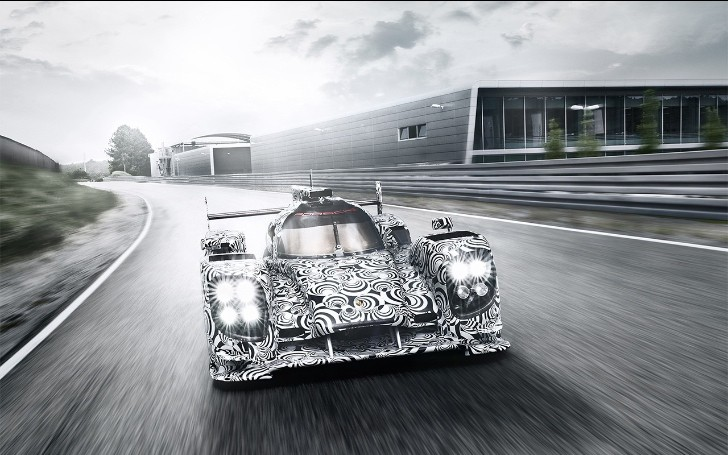 Porsche LMP1 Race Car Shown in New Pictures [Photo Gallery]