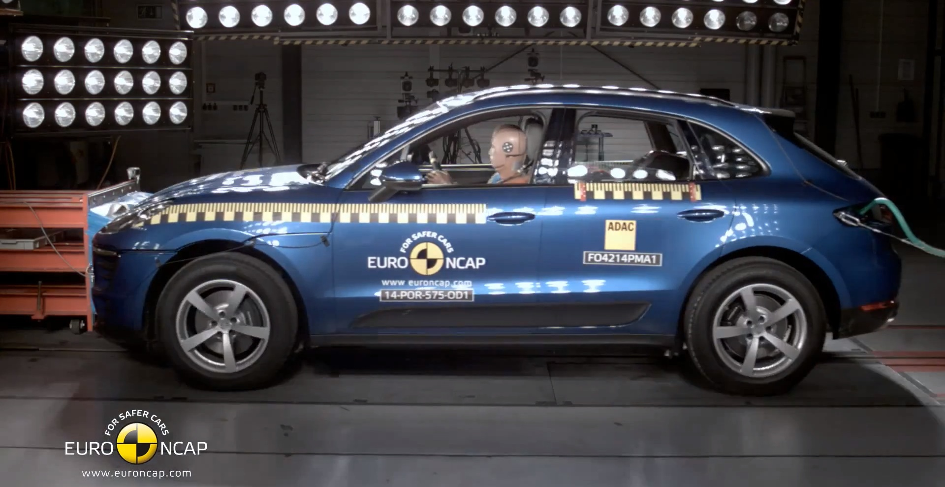 Porsche Macan Gets 5-Star Safety Rating from Euro NCAP - autoevolution