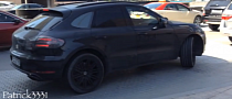 Porsche Macan Spotted in Dubai Ahead of Los Angeles Debut [Video]
