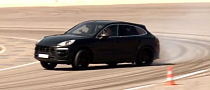 Porsche Macan Turbo Put Through Its Paces on the Track [Video]