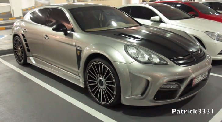Porsche Mansory Panamera C ONE in Dubai [ Video]
