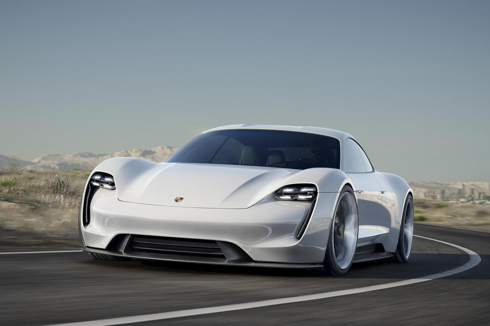 Porsche Taycan is the production version of the Mission E
