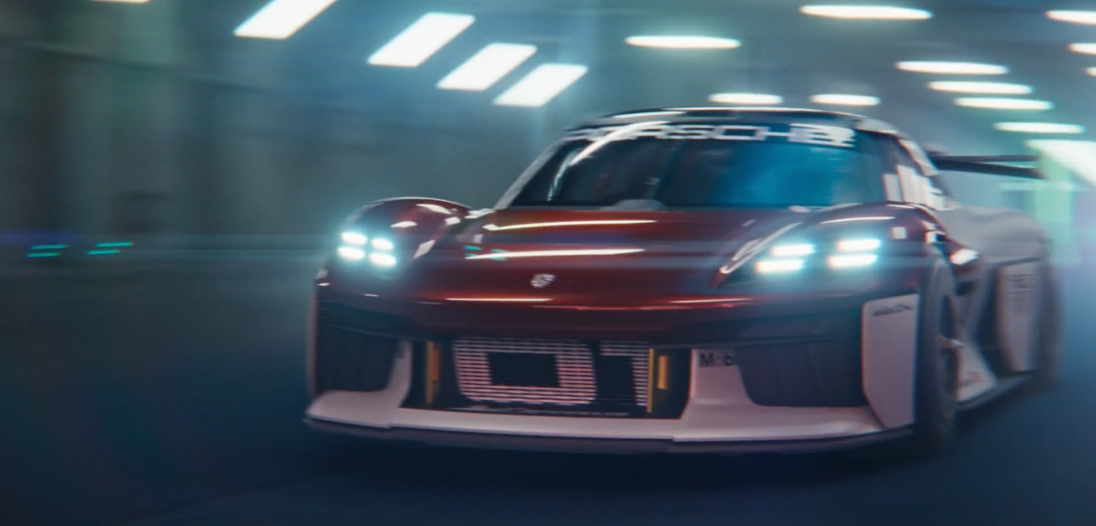 Porsche Mission R CGI Short Clip Suggests the Germans Are About to Fight Back