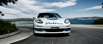 2014 Porsche Panamera Becomes a Police Car in Sydney [Photo Gallery]