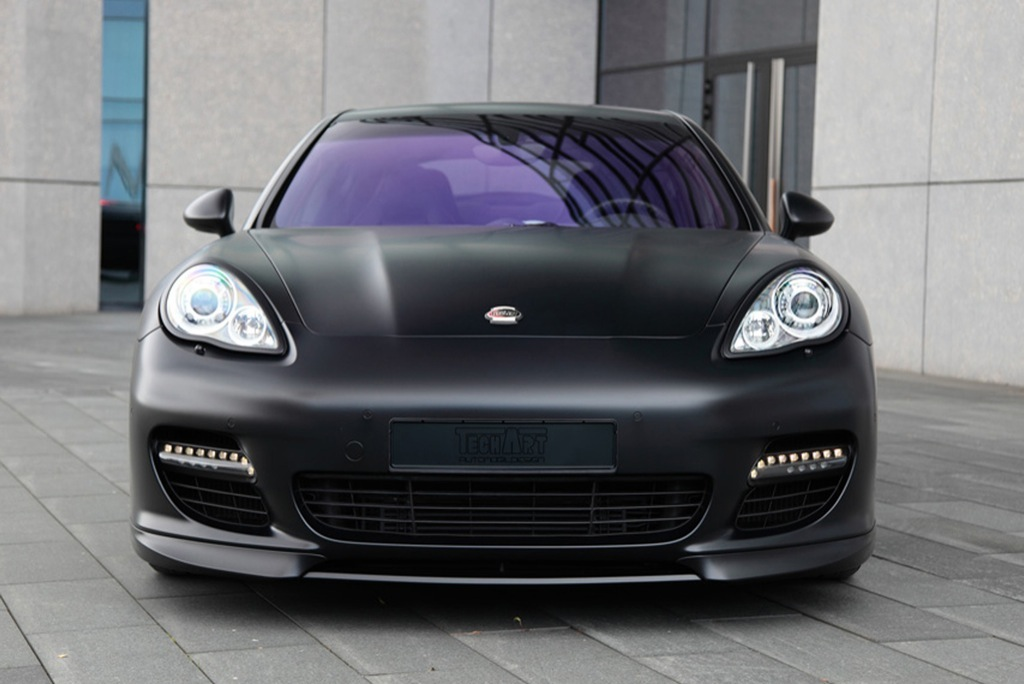 Porsche Panamera Black Edition By Techart Autoevolution