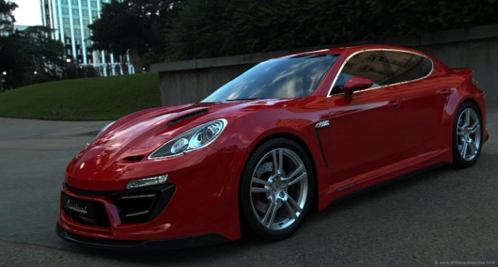 Porsche Panamera by Anibal Looks Like a 911 Four-Door [Photo Gallery]
