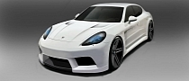 Porsche Panamera GTM by Misha Designs Coming to 2012 SEMA [Photo Gallery]