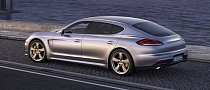 "Porsche Panamera Long Wheelbase Revealed as ""Panamera Executive"""