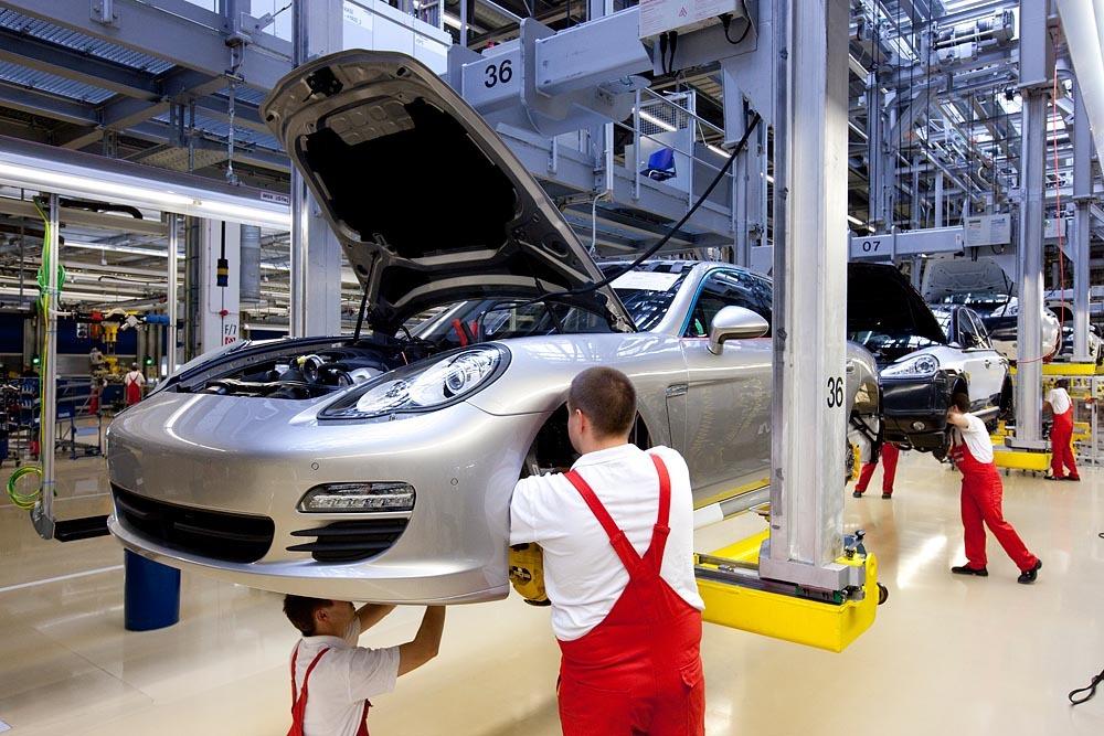 Porsche Panamera Production At Full Speed Autoevolution