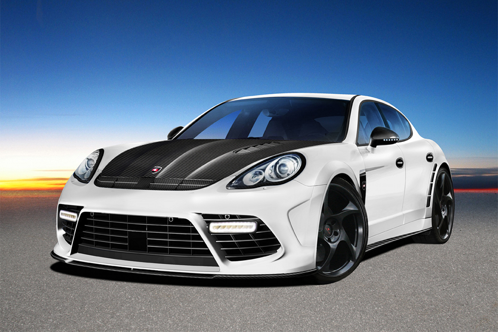 Porsche Panamera Redefined By Mansory