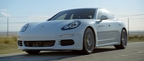 Porsche Panamera S E-Hybrid Races Electricity in Ad [Video]