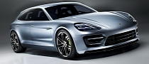 Porsche Panamera Sport Turismo (Shooting Brake) First Photos [Photo Gallery]