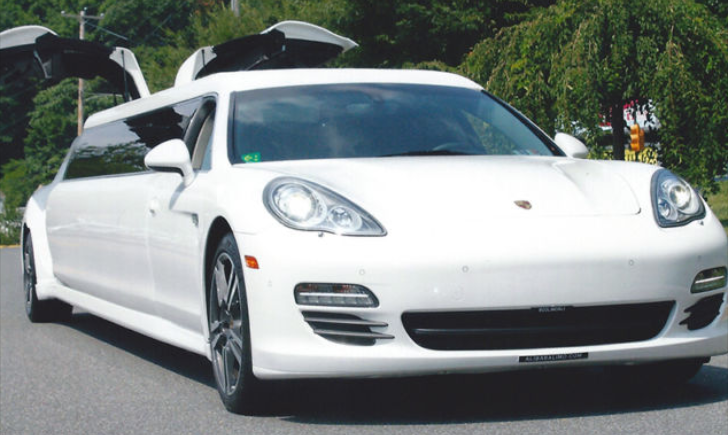 Porsche Panamera Stretch Limo Is Grotesquely Interesting