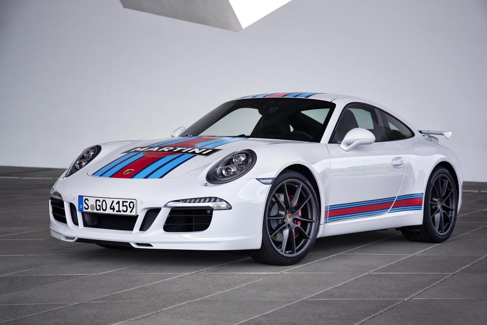 Porsche 911 S Martini Racing Edition A Le Mans Return Appetizer