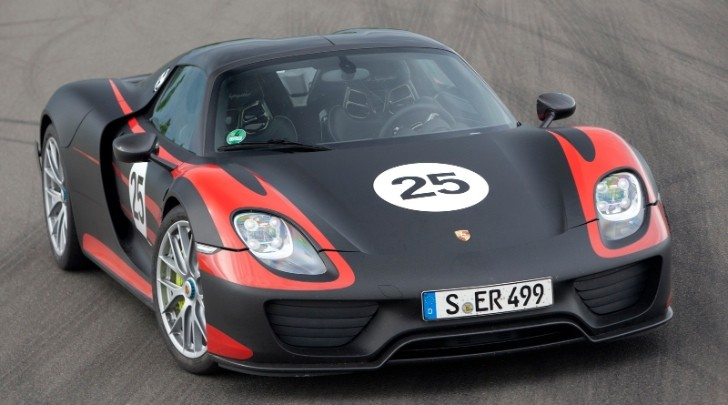 Porsche Releases New 918 Spyder Technical Details [Photo Gallery]