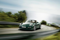 The facelifted Porsche Boxster
