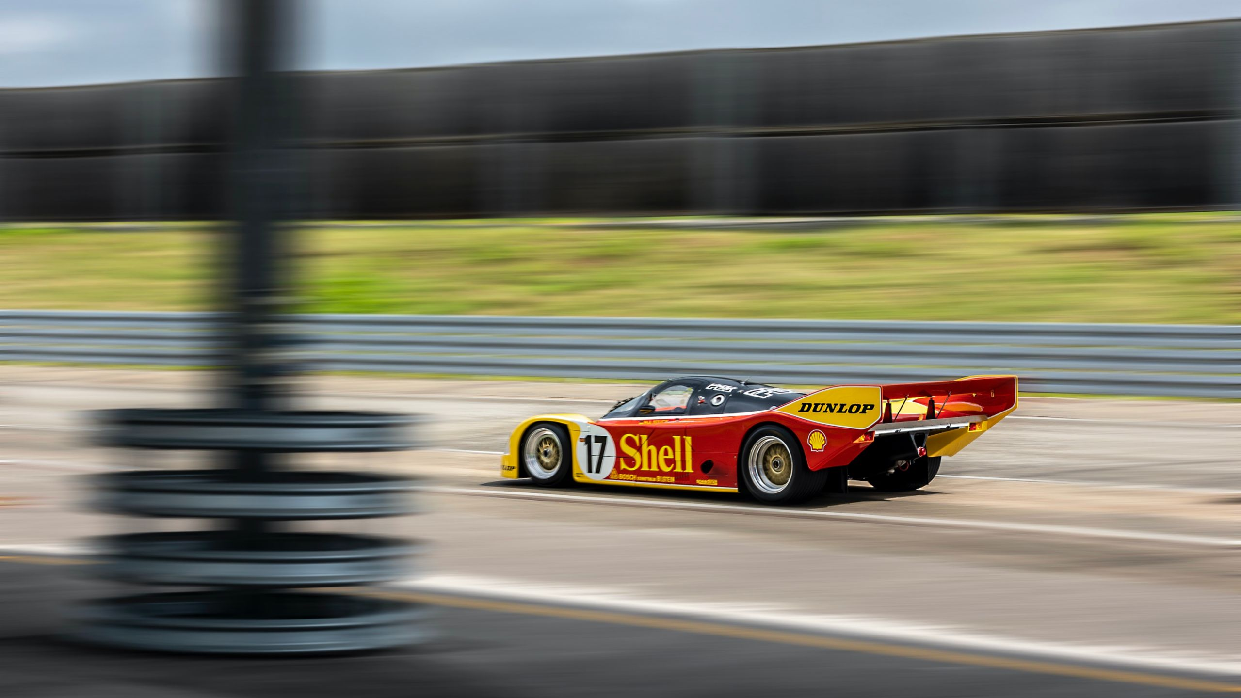 Porsche Restores a 1987 962C Race Car to Factory Original Condition