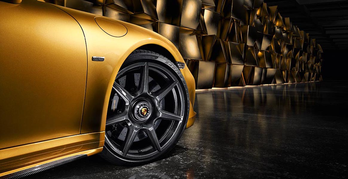 Porsche 911 Turbo S Exclusive Series gets carbon fiber wheels
