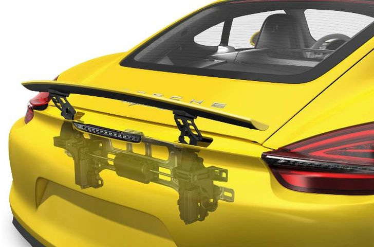 Porsche Shows Off Cayman with Cutaway Drawings