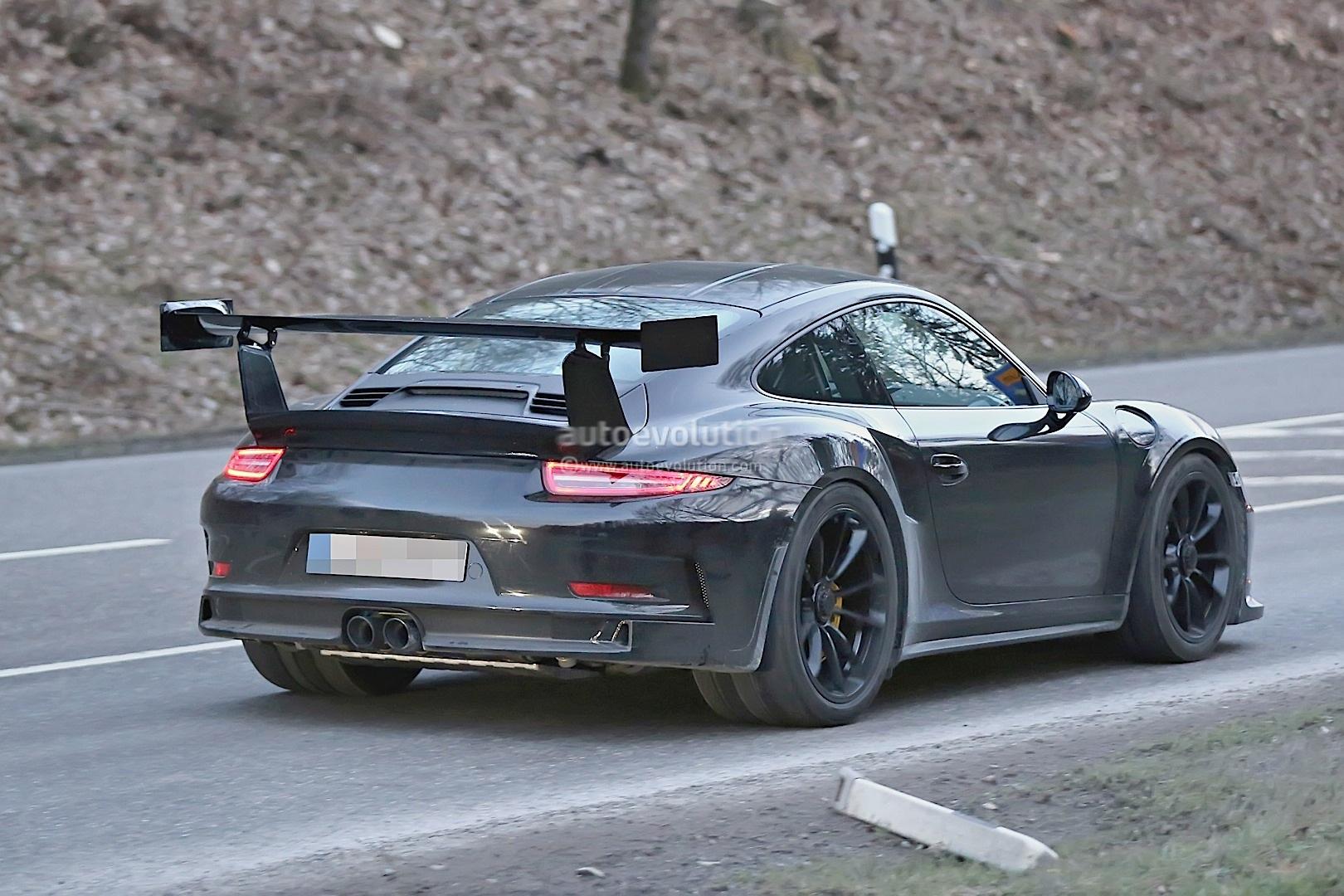 porsche spied testing new 911 gt2 autoevolution. Black Bedroom Furniture Sets. Home Design Ideas