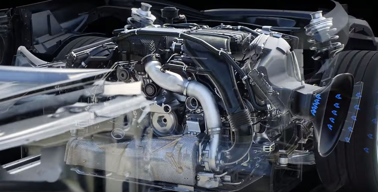 Porsche Takes Us Inside The 718 Boxster S Turbo Flat 4 In Tech Fetish Animation 104039on Porsche 4 Cylinder Boxer Engine