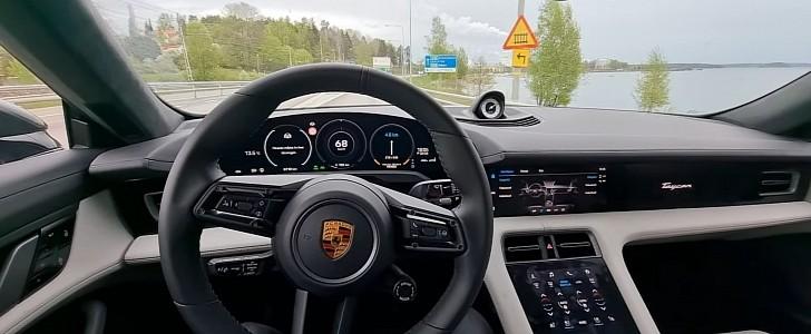 photo of Porsche Taycan Turbo S Pulls a Tesla Autopilot Impersonation image