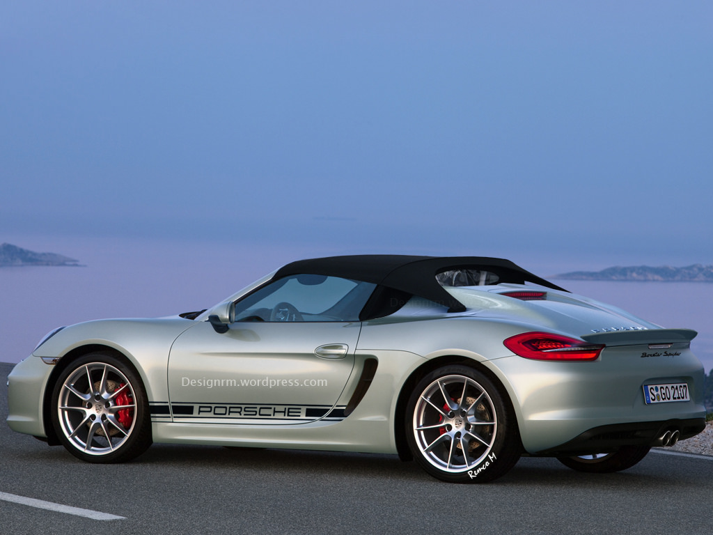 Porsche Working On Another Boxster Spyder Here S What It