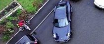 Porsche Works Drivers Can't Handle Reverse Parking in a 911: Commercial [Video]