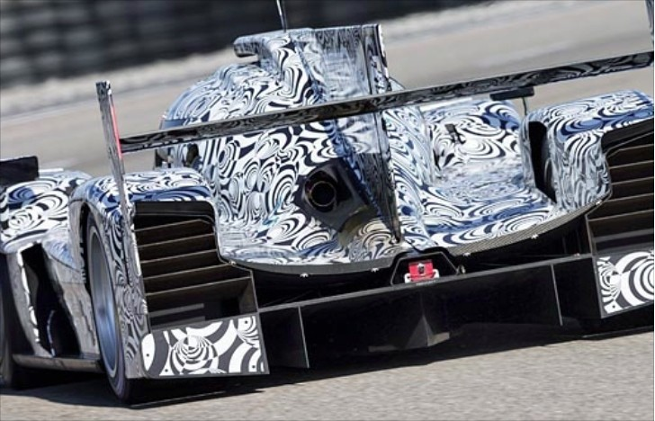 Porsche's LMP1 Race Car Powered by Turbo Inline-Four?