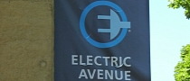 Portland Prepares for Electric Cars by Testing Electric Avenue