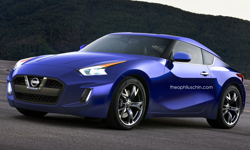 Potential Nissan 390Z / Fairlady Z Rendered, Looks Good ...