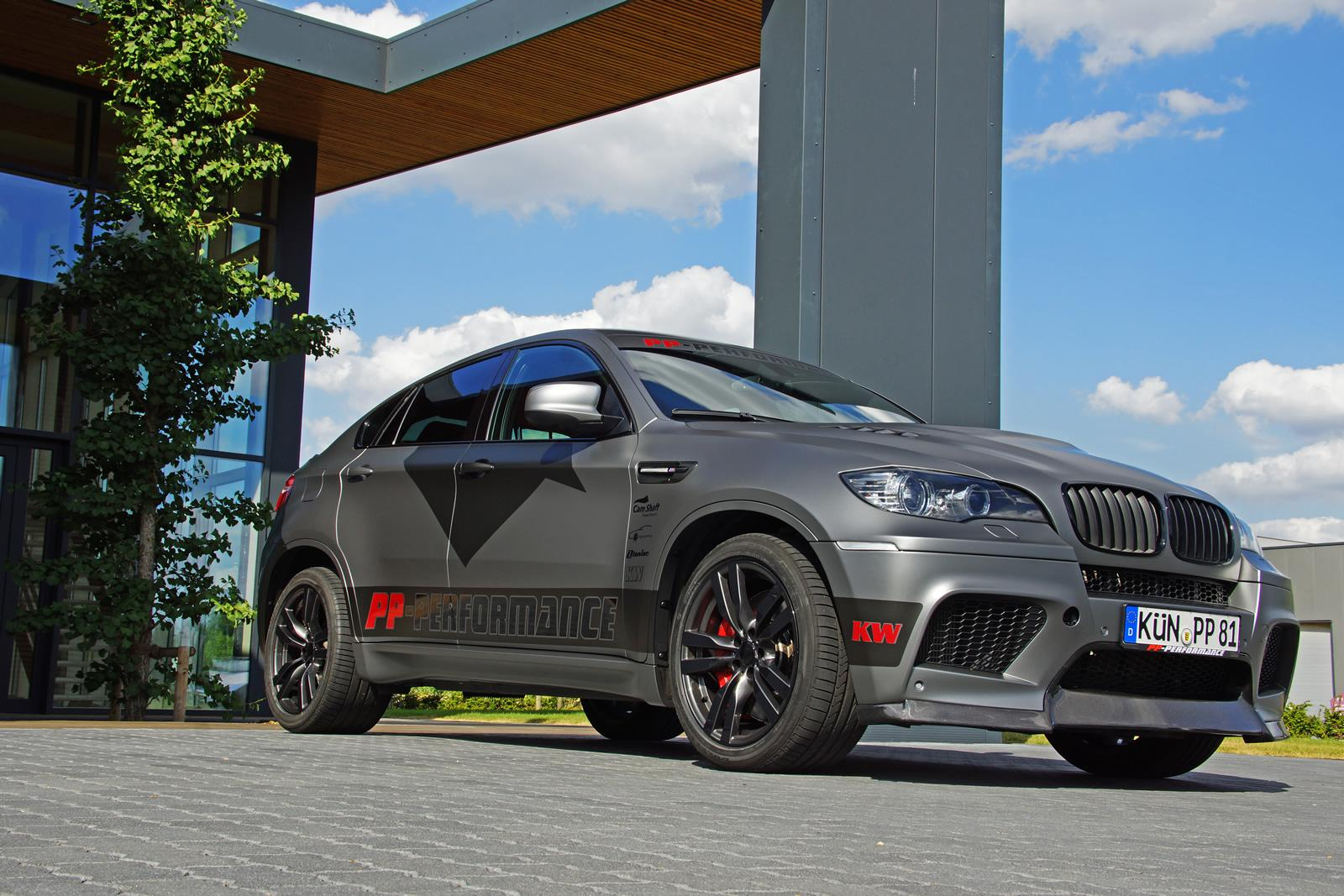 Pp Performance Bmw X6 M Gets Custom Wrap At Cam Shaft Autoevolution