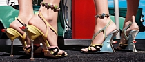 Prada Cadillac and Hot Rod High Heel Shoes [Video] [Photo Gallery]