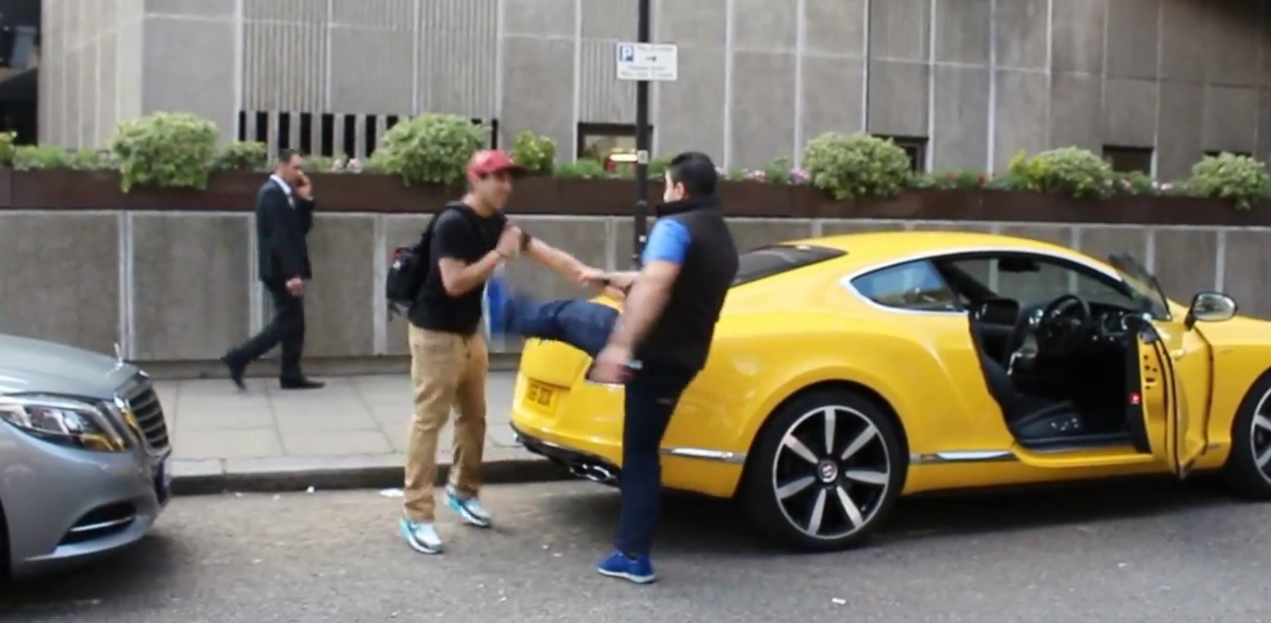 Prank Spray Painting Supercars In London Goes Wrong