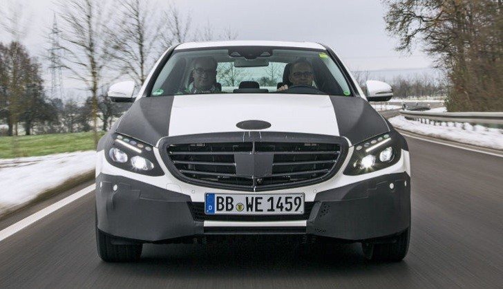 Pre-Production C-Class W205 is Rode in by Auto Bild