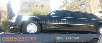 President Obama's Limo Breaks Down in Israel Because of Wrong Fuel