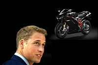 Prince William chooses the 1198 SP